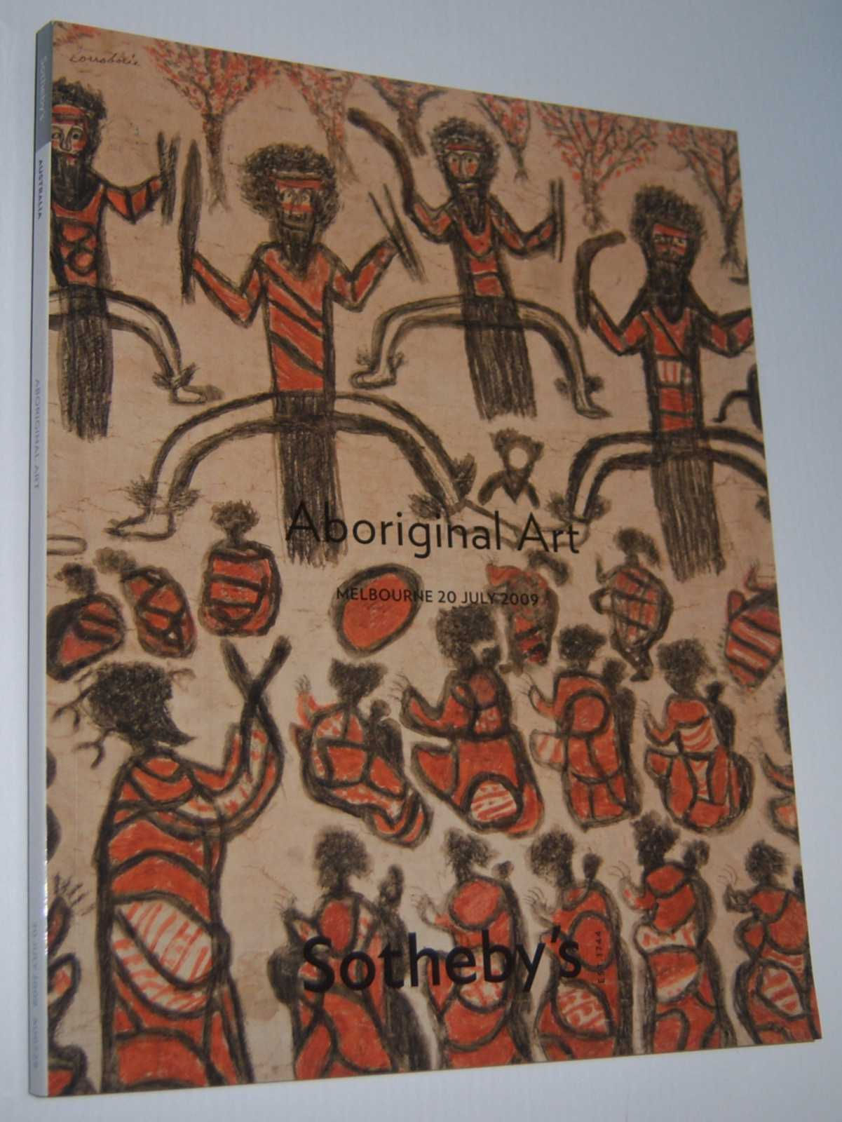 Image for SOTHEBY'S ABORIGINAL ART AUCTION CATALOGUE. Melbourne 20 July 2009