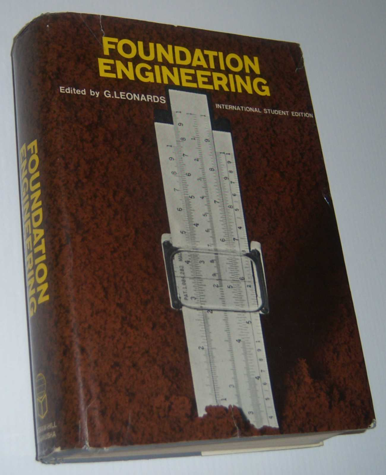 Image for FOUNDATION ENGINEERING. International Student Edition