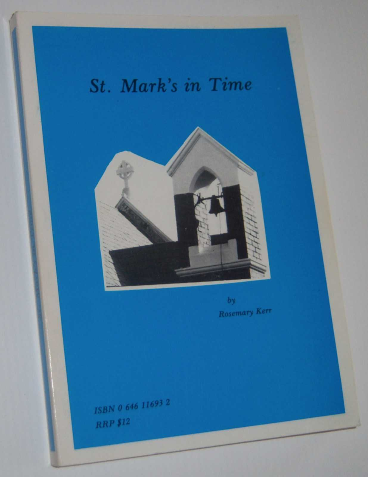 Image for ST. MARK'S IN TIME