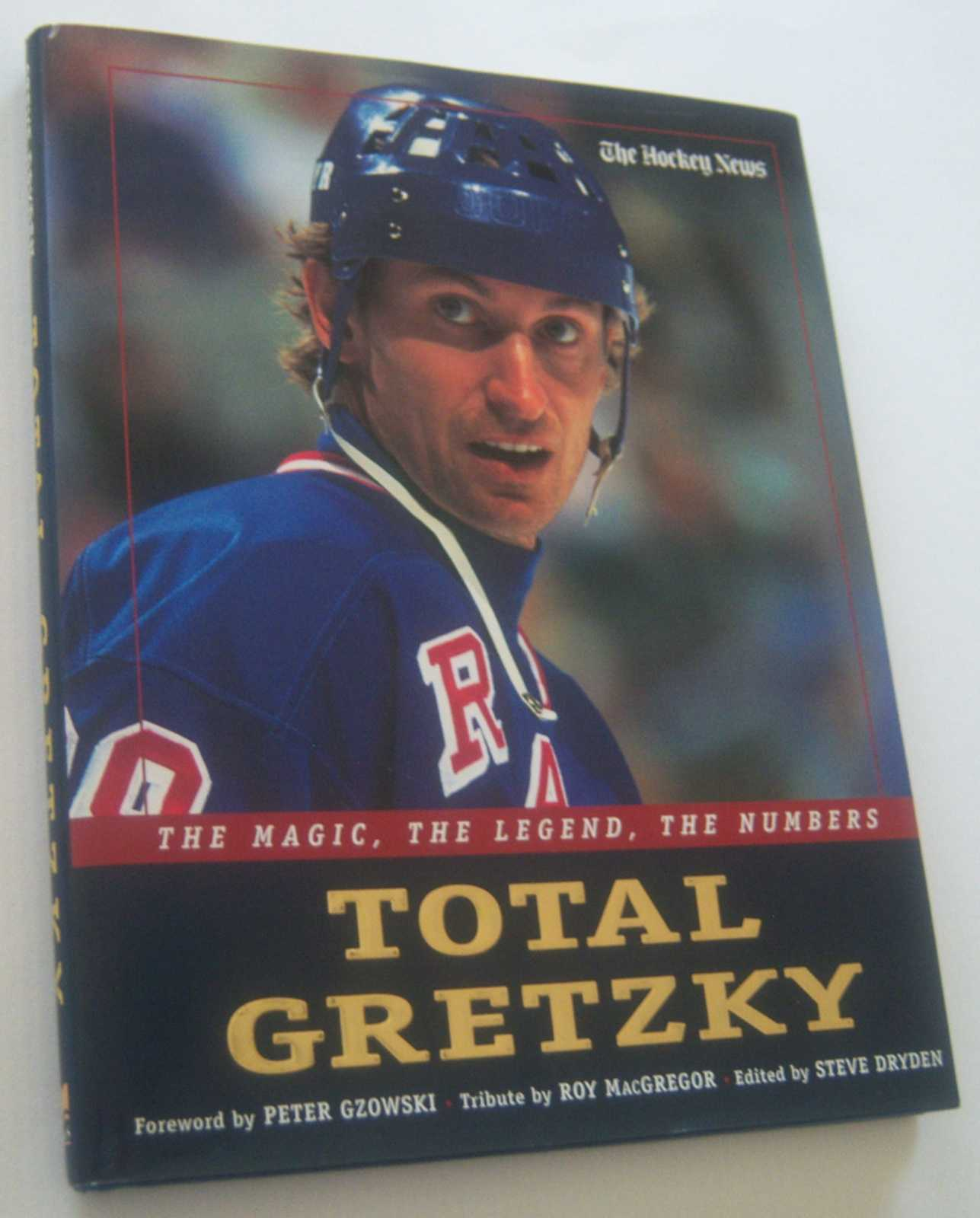 Image for TOTAL GRETZKY: The Magic, The Legend, The Numbers