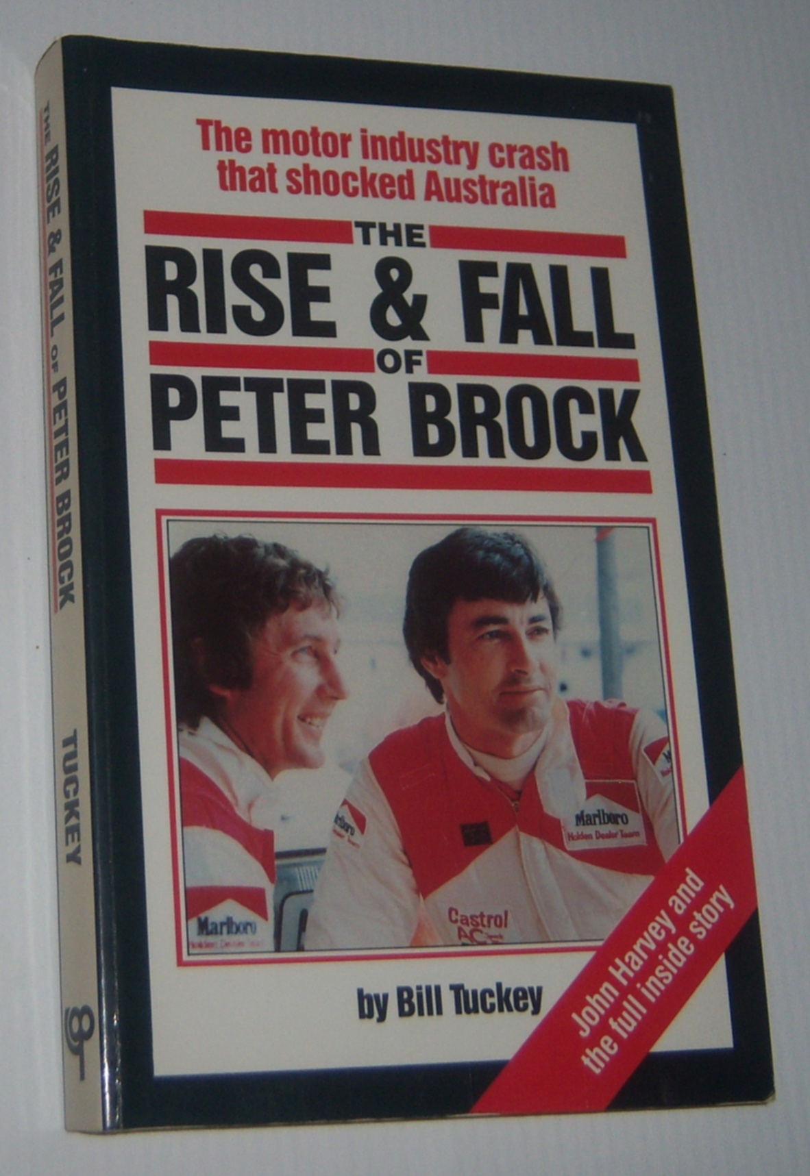 Image for THE RISE AND FALL OF PETER BROCK