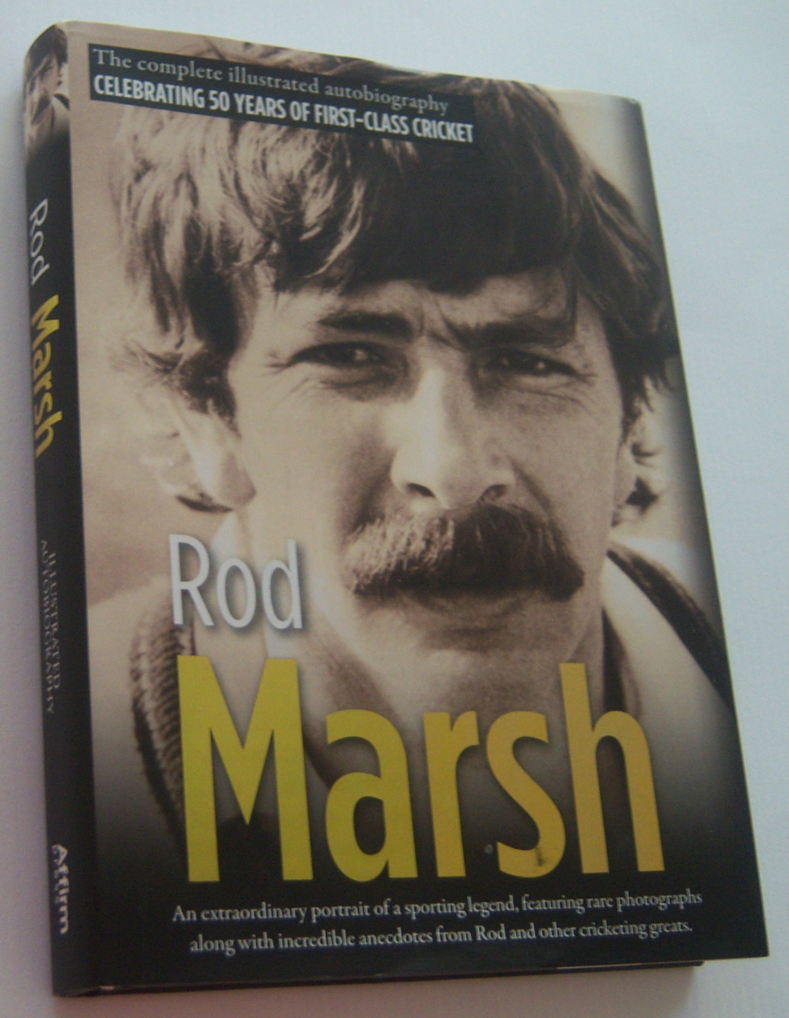 Image for ROD MARSH: The Complete Illustrated Autobiography - Celebrating 50 Years of First-Class Cricket