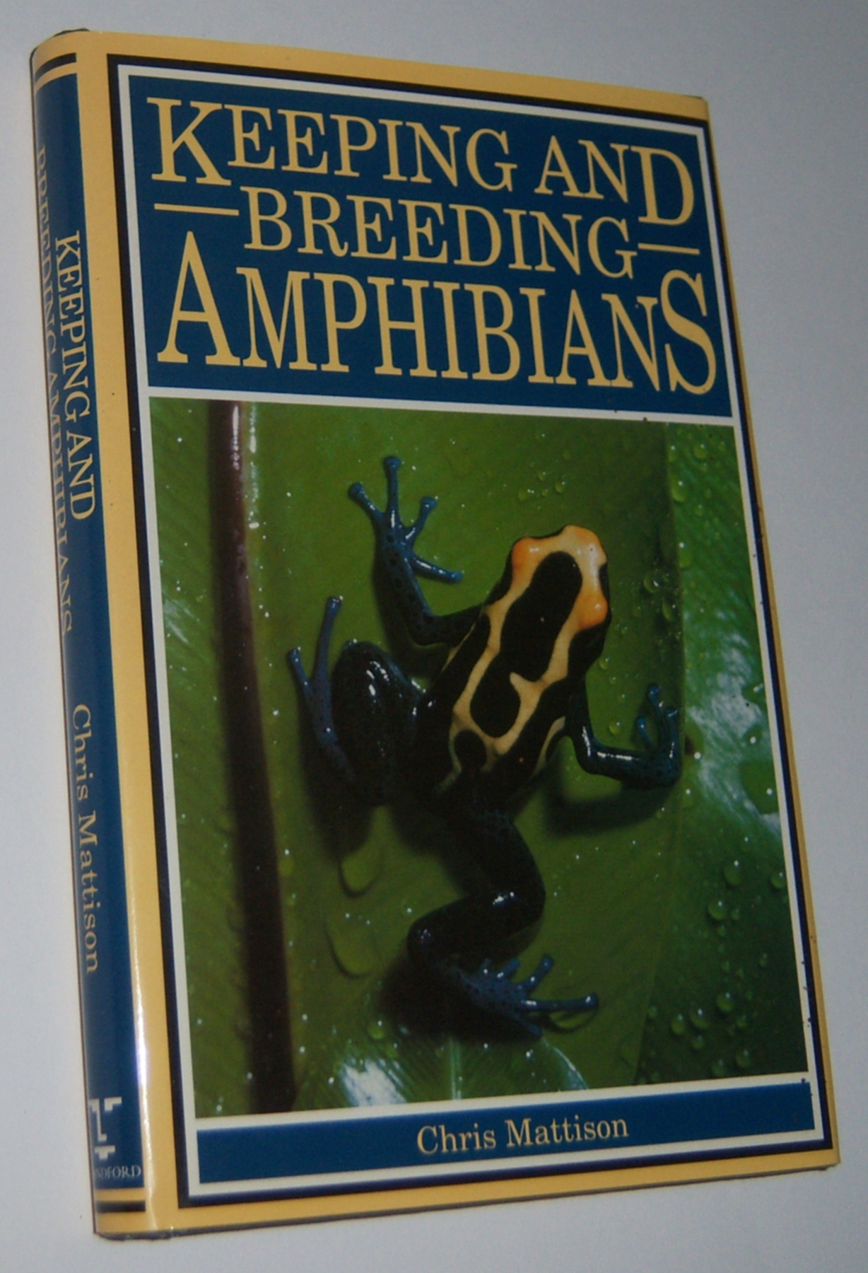 Image for KEEPING AND BREEDING AMPHIBIANS: Caecilians, Newts, Salamanders, Frogs and Toads