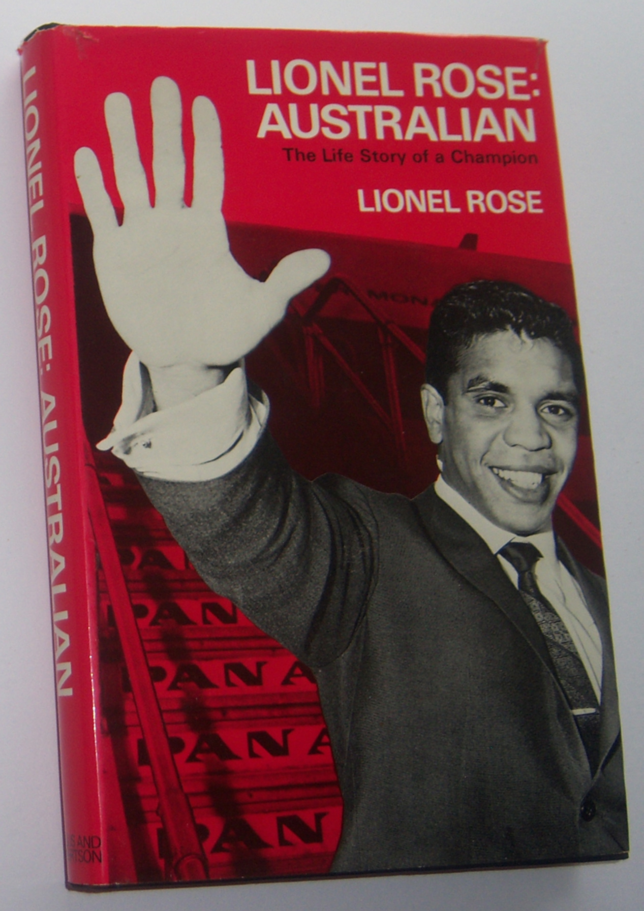 Image for LIONEL ROSE: Australian. The Life Story of a Champion