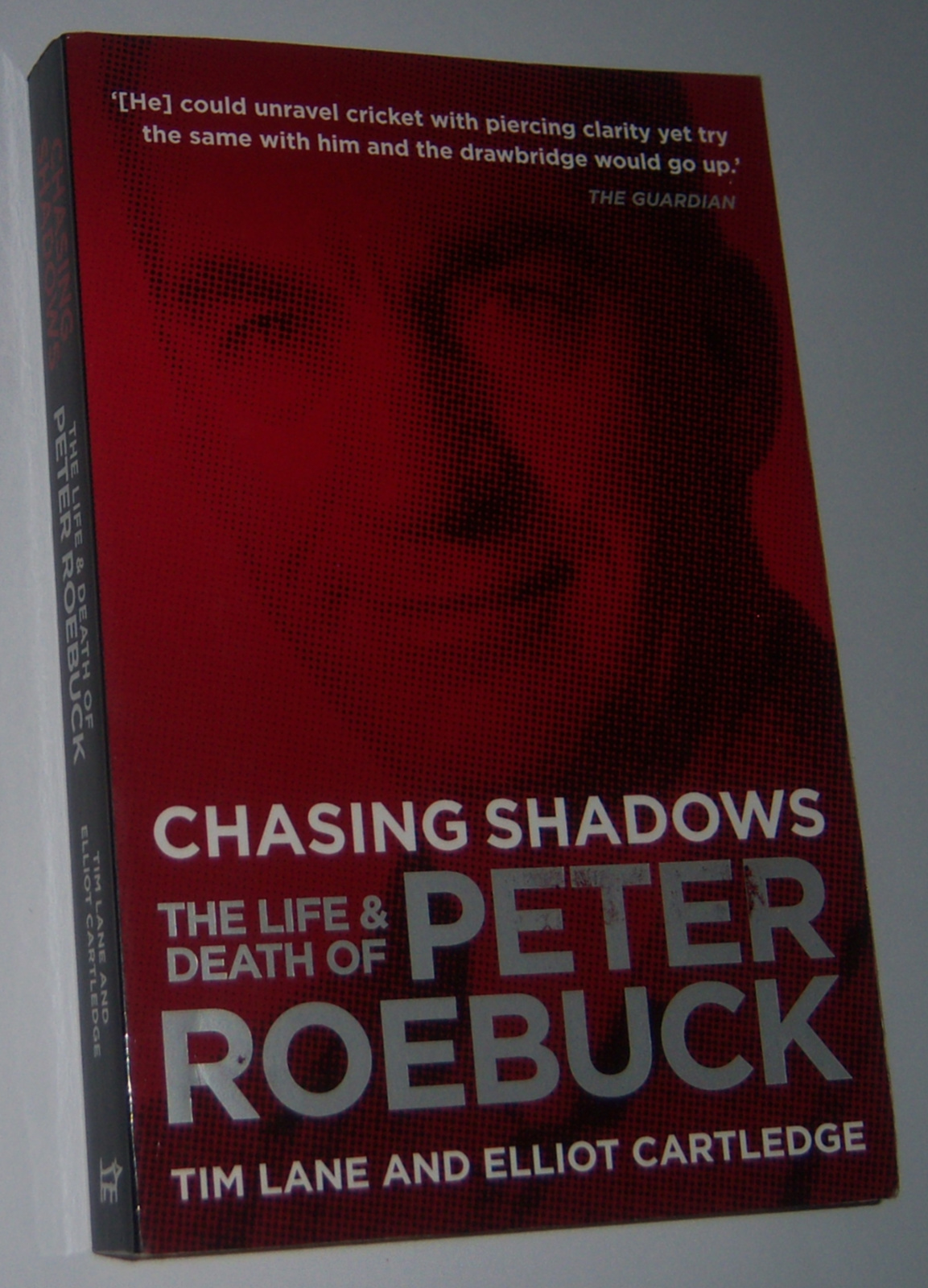 Image for CHASING SHADOWS: The Life and Death of Peter Roebuck