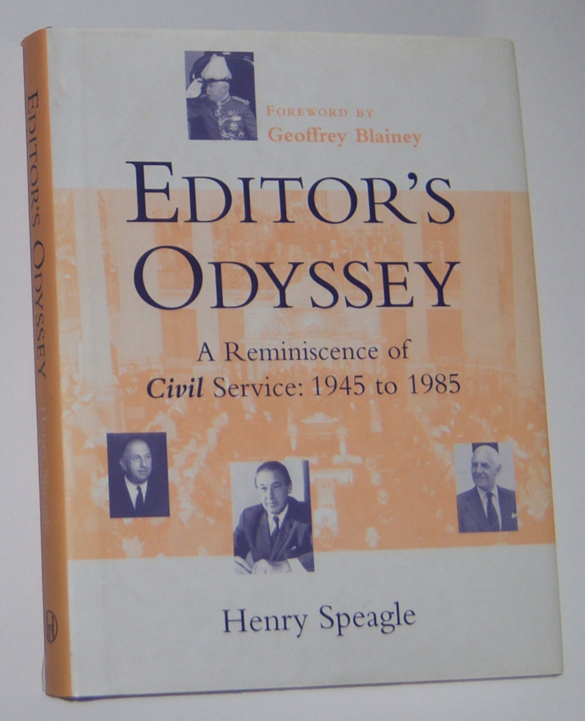Image for EDITOR'S ODYSSEY : A Reminiscence of Civil Service  1945 to 1985