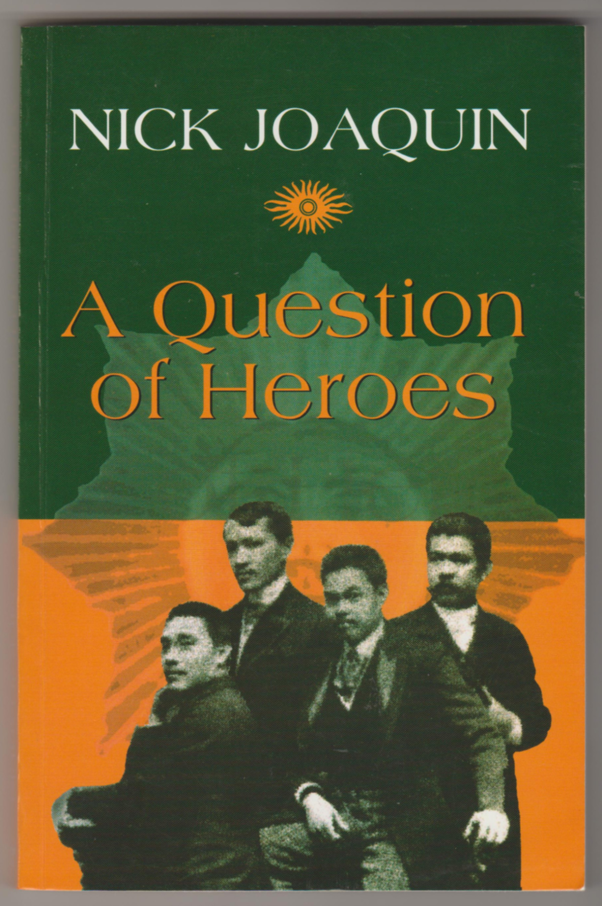 Image for A QUESTION OF HEROES