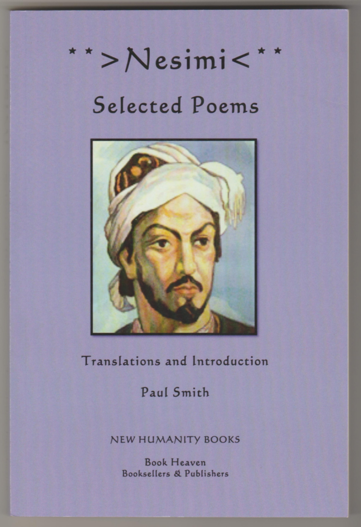 Image for NESIMI Selected Poems  (Signed by Translator)