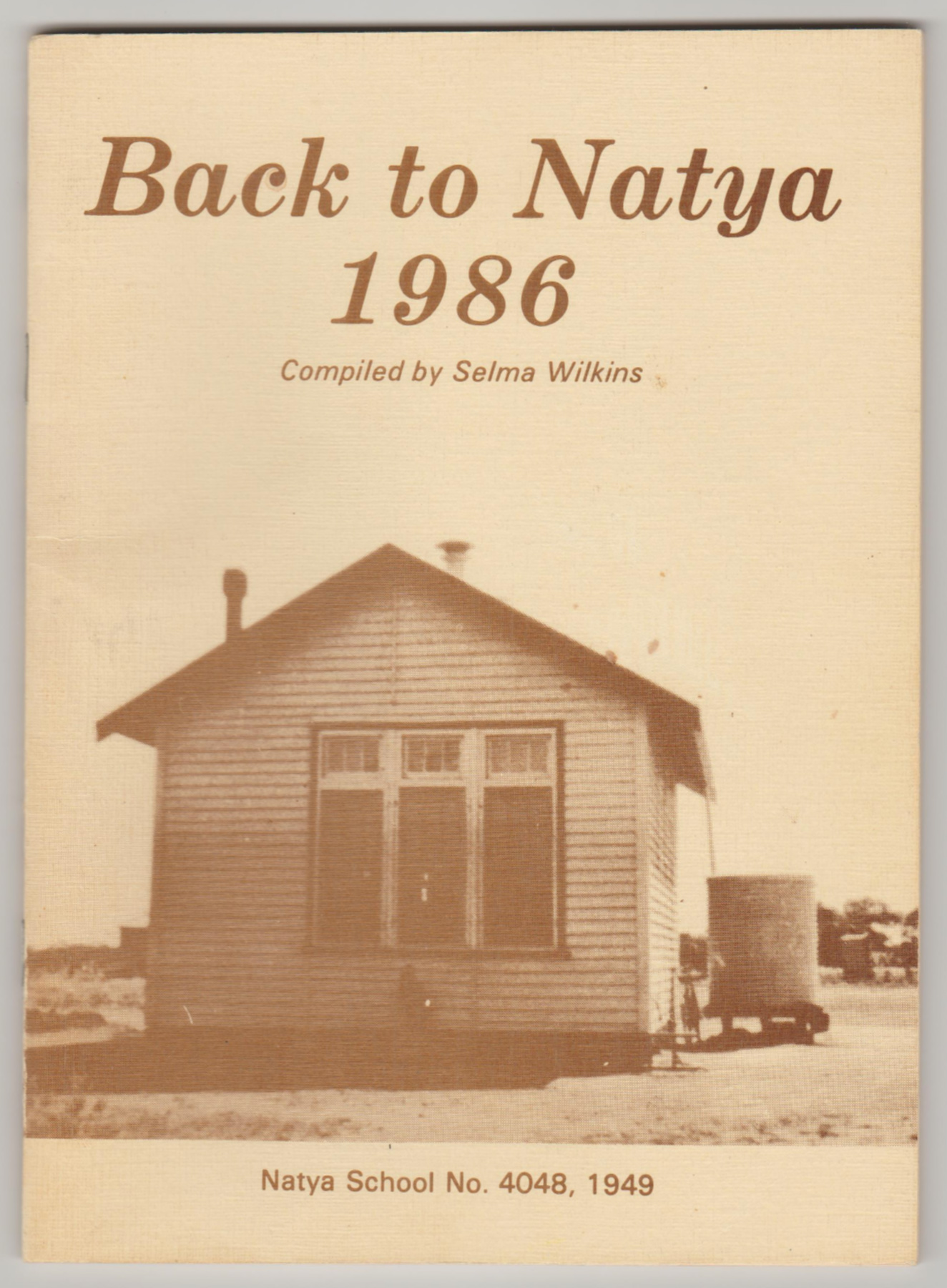 Image for BACK TO NATYA 1986