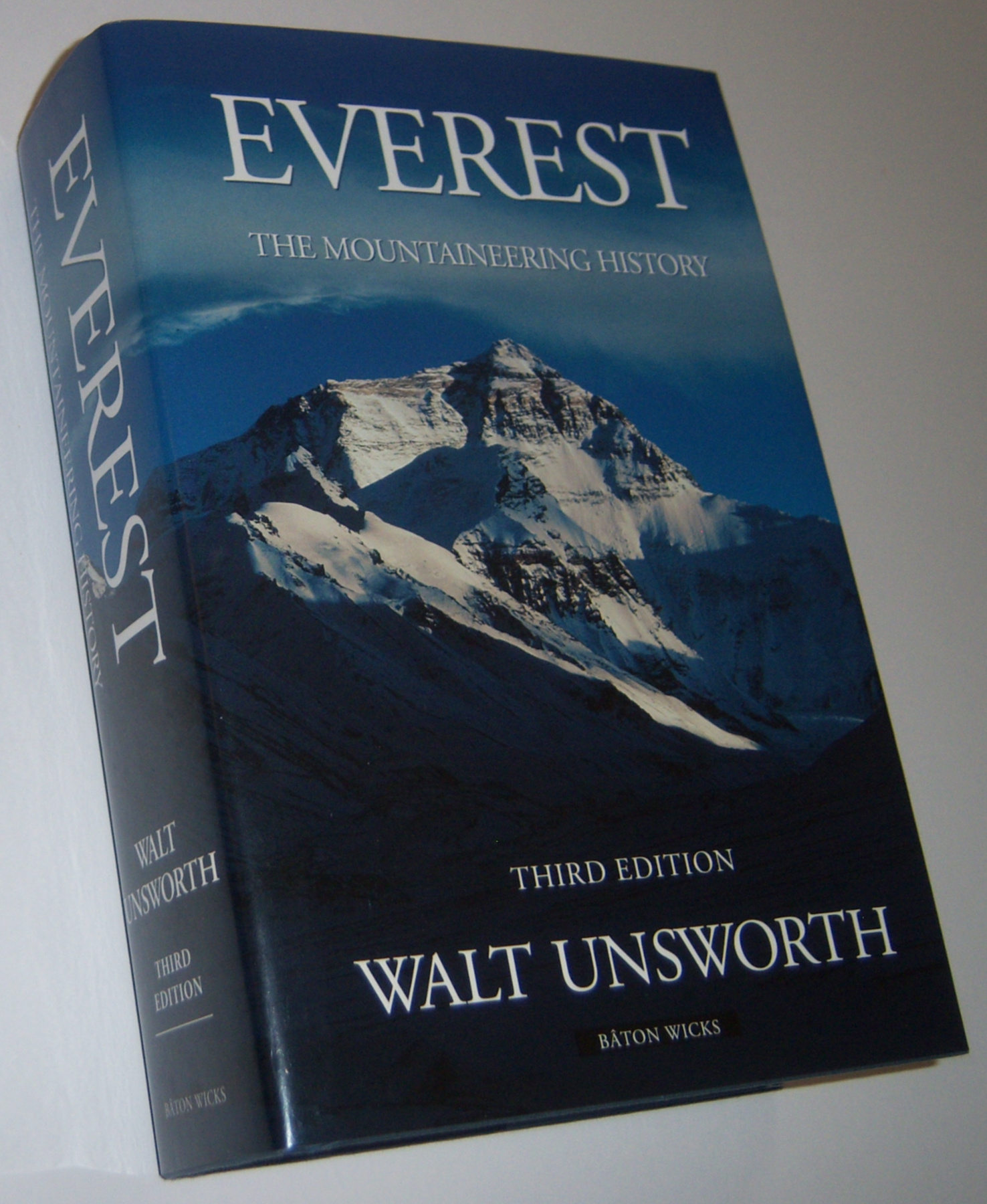 Image for EVEREST : The Mountaineering History (Third Edition)