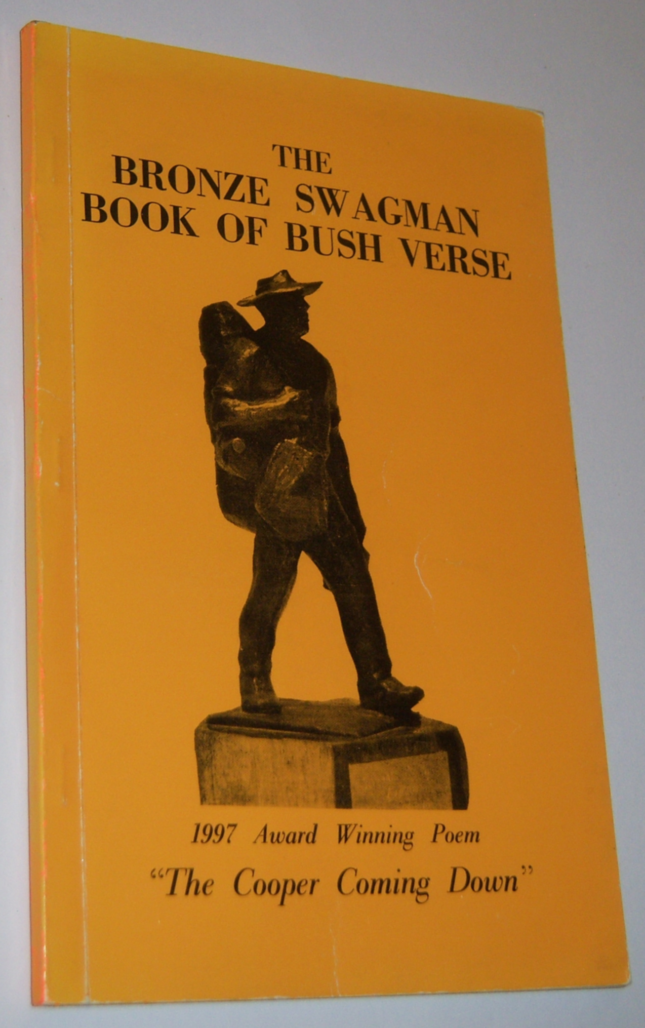 Image for THE BRONZE SWAGMAN BOOK OF BUSH VERSE (1997) Twenty-Sixth Edition