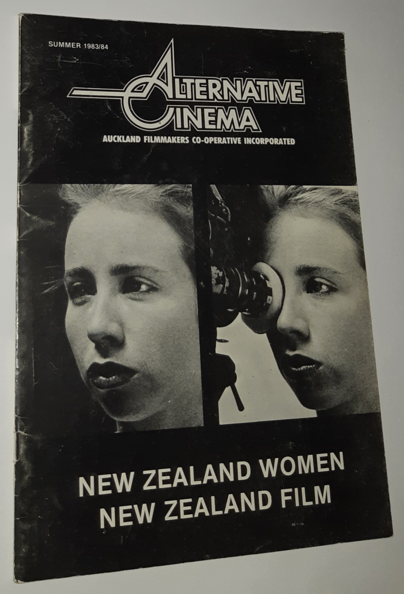 Image for ALTERNATIVE CINEMA. Summer 1983/84. Vol. 11 No. 4.: New Zealand Women. New Zealand Film.