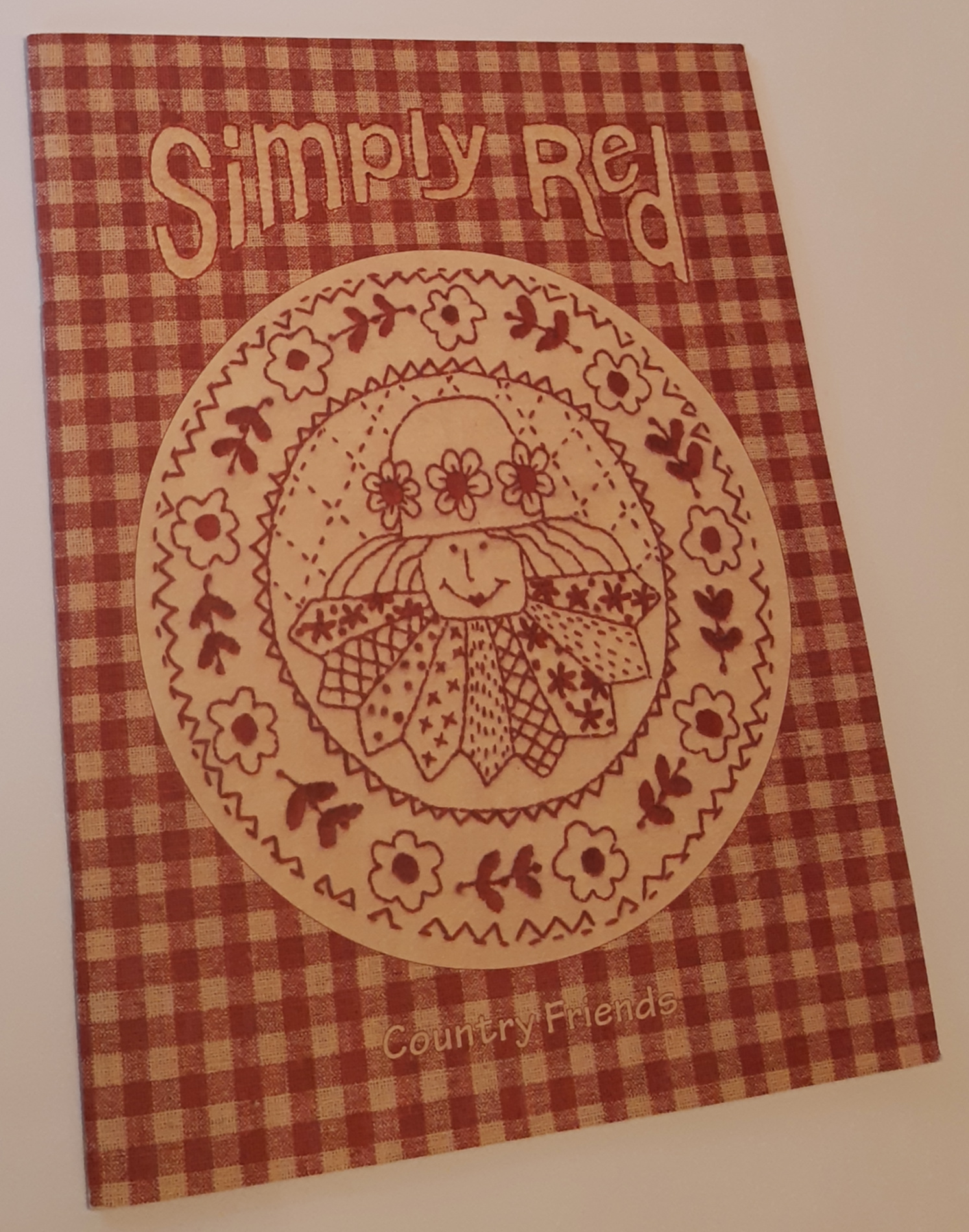 Image for SIMPLY RED: A Collection Of Stitcheries
