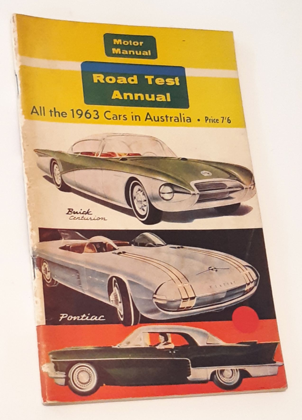 Image for MOTOR MANUAL ROAD TEST ANNUAL. All the 1963 Cars in Australia