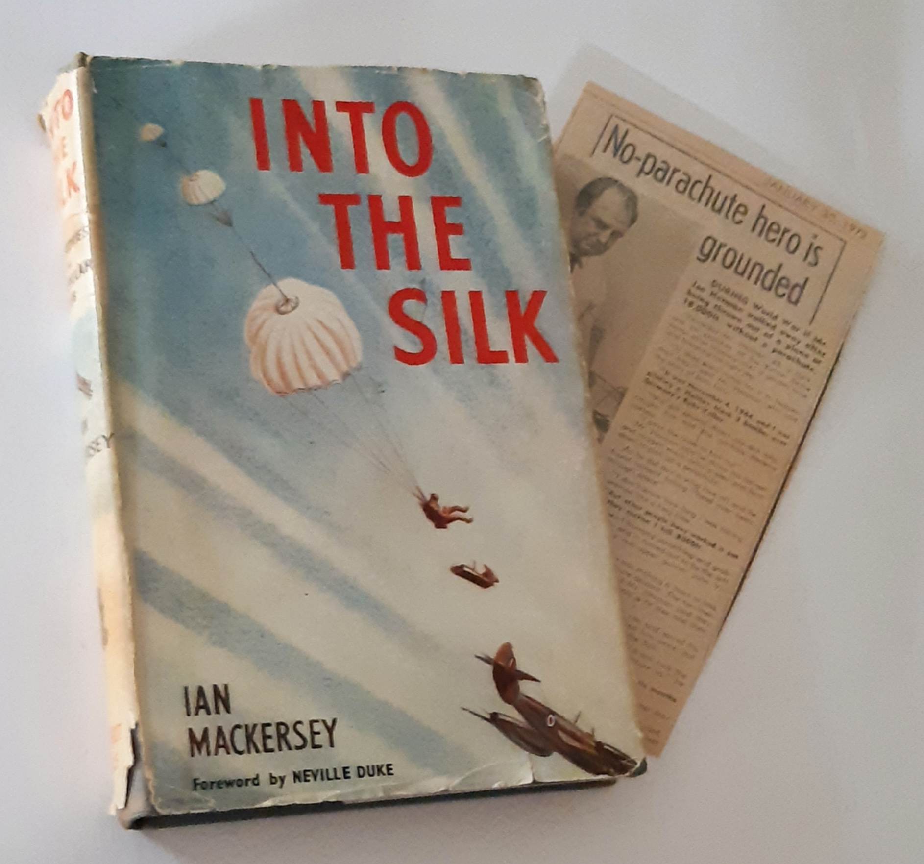 Image for INTO THE SILK: True Stories of the Caterpillar Club