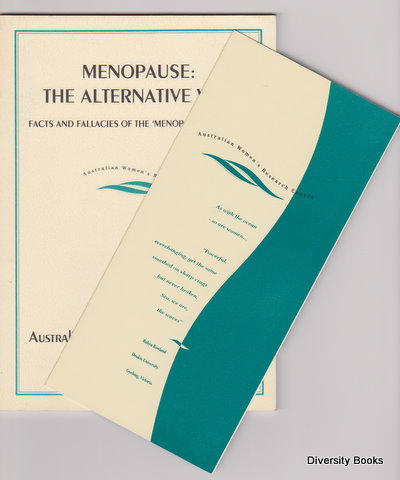 Image for MENOPAUSE : The Alternative Way. Facts and Fallacies of the 'Menopause Industry' (Monograph Series No. 1)